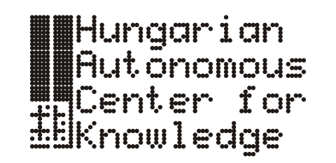 eaposztrof - Hungarian Autonomous Center for Knowledge - H.A.C.K. logo (67.74 Kb)
