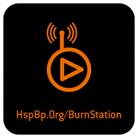 burnstation sticker
