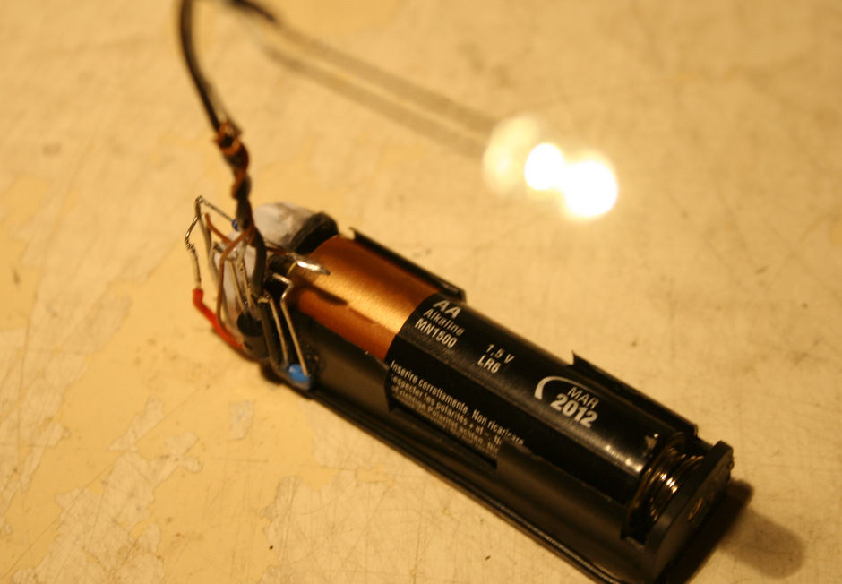 eaposztrof's joule thief from hspbp's kit